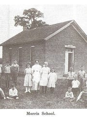 This undated photo shows a class at Morris School,