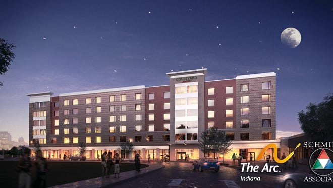 The Arc of Indiana's Courtyard by Marriott