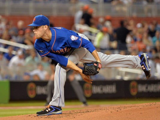 Mets Zack Wheeler at Marlins June 19 2014