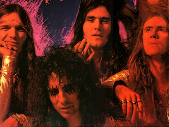 "Alice Cooper group as seen on cover of the ""Killer"""