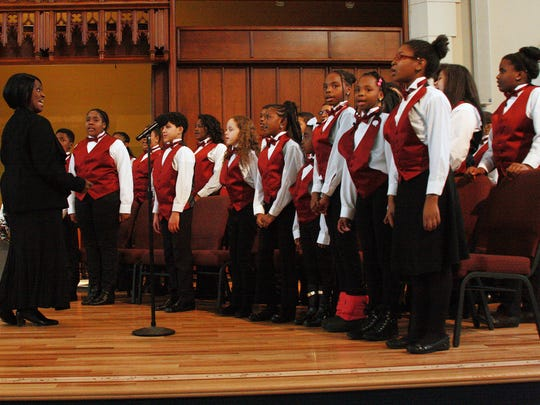 The Sojourner Truth Youth Choir.