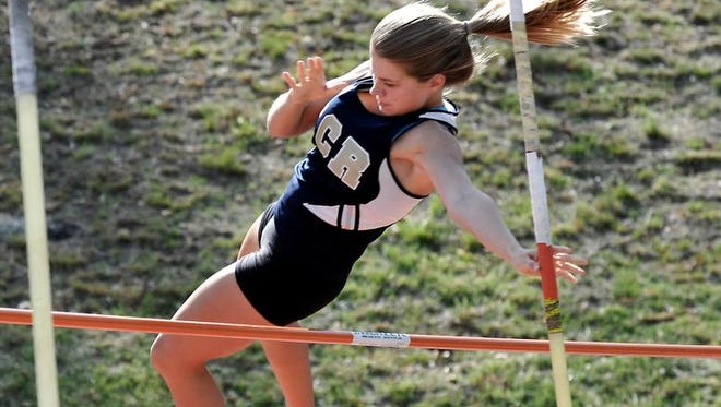 Roberson was the top girls team at Monday's Mountain Athletic Conference track meet.