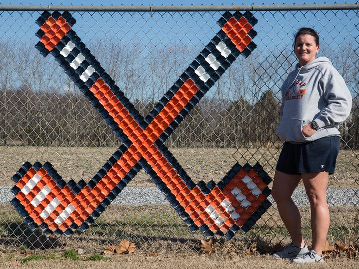 Delmar field hockey coach Jodi Hollamon poses for a