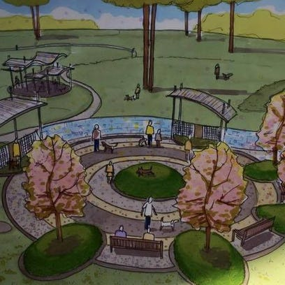 Here's a look at the entrance plaza for the proposed