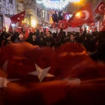 Protests after Dutch rebuff Turkish officials