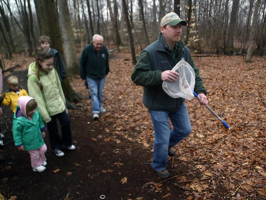 Take a hike with park rangers and historians at the Great Swamp Watershed Association's Headquarters in Morristown on Friday.