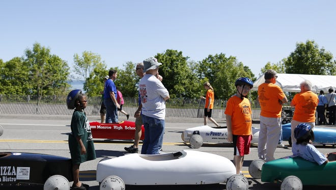 The Greater Cincinnati Soap Box Derby Fun Run happens Saturday in the parking lot of UC Health Stadium (where Florence Freedom play) in Florence.