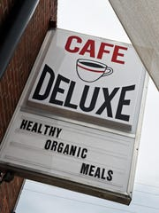 Most of the dishes at Cafe DeLuxe in Midtown are less than $10. The renovated restaurant occupies what was once a commercial laundry.