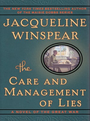 """""""The Care and Management of Lies""""  by Jacqueline Winspear"""