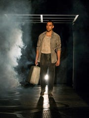 "Miguel A. Faña, as Diego, in a post-death scene from ""The  Strangers"" at the University of Tennessee's Carousel Theatre"