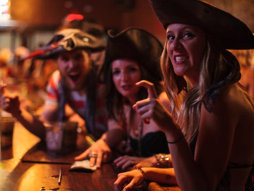 The 2016 Reno Pirate Crawl is Saturday, August 13 in