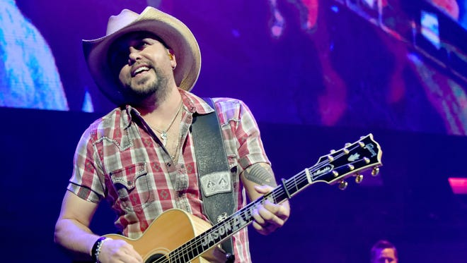 Jason Aldean has been nominated again for Entertainer of the Year and will perform at the ACM Awards on April 15.