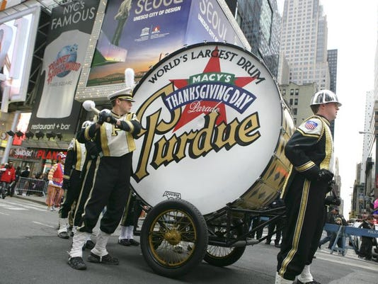 Purdue's Big Bass Drum