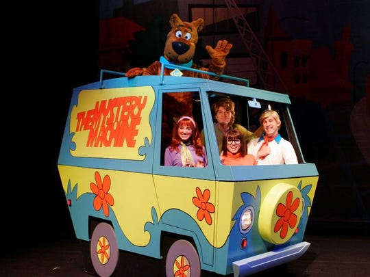 """Scooby-Doo Live! Musical Mysteries"""
