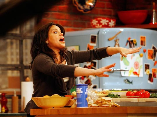 Talk show host Rachael Ray will be chatting from 1:30-2:30 p.m. Friday at Philadelphia Flower Show at the Pennsylvania Convention Center.