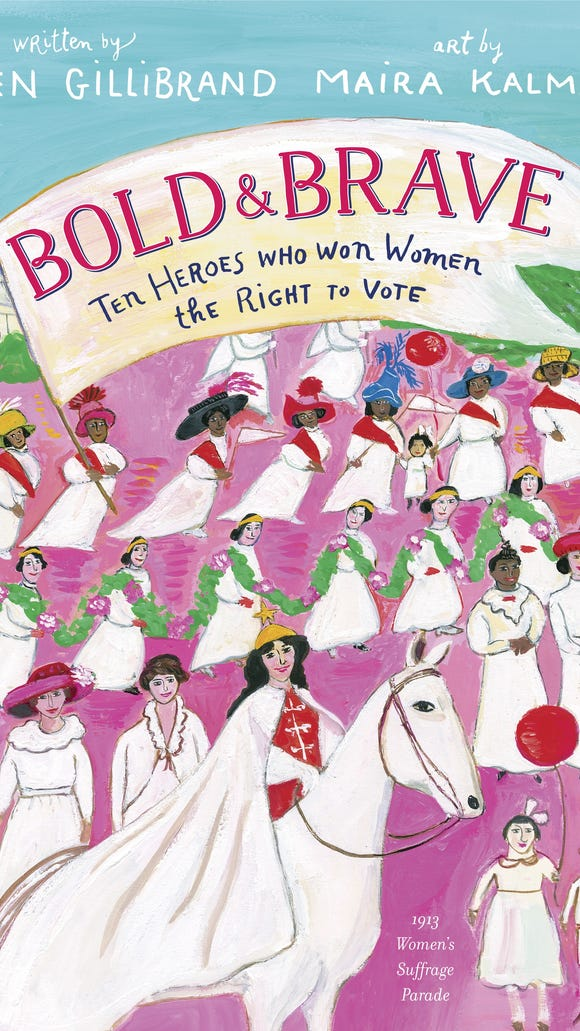 "Sen. Kirsten Gillibrand's first picture book, ""Bold"