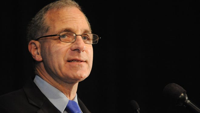 Former FBI head Louis B. Freeh, seen in July 2012 in Philadelphia, nearly died after severing an artery in a leg during a car crash last year in Vermont, officials disclosed for the first time Friday.