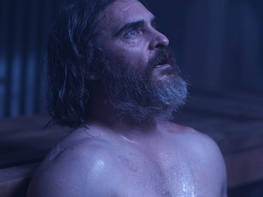 "Joe (Joaquin Phoenix) is haunted by flashbacks in ""You"