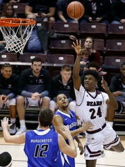 Alize Johnson is averaging 10.6 rebounds per game, the highest total for a Missouri State player since Lee Campbell averaged 12.5 in the 1989-90 season.