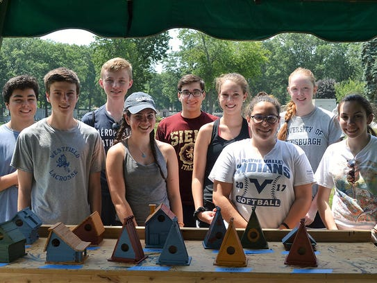 Students from Bergen, Union, and Passaic counties visited