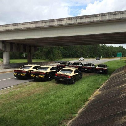 FHP troopers work Interstate 10 in Jefferson County.