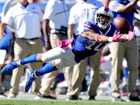 Robert Woods and the Bills receivers have a difficult matchup against the Seattle secondary.