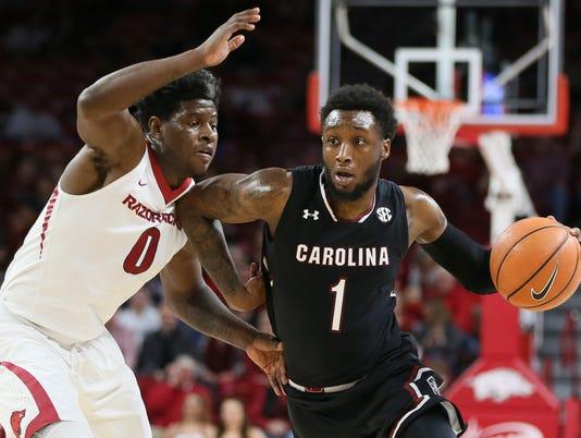 NCAA Basketball: South Carolina at Arkansas
