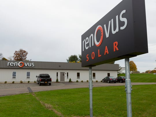 Renovus consolidated from four locations to to a two-building