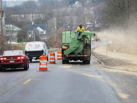 LAF Happy Hollow Road Reopens to two way traffic