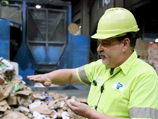 Mike Peio, Maintenance Supervisor at ACUA recycling