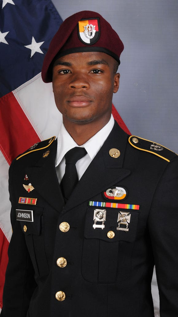 Army Sgt. La David Johnson was one of four soldiers