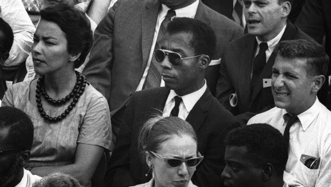"James Baldwin is the focus of the documentary, ""I Am Not Your Negro."""