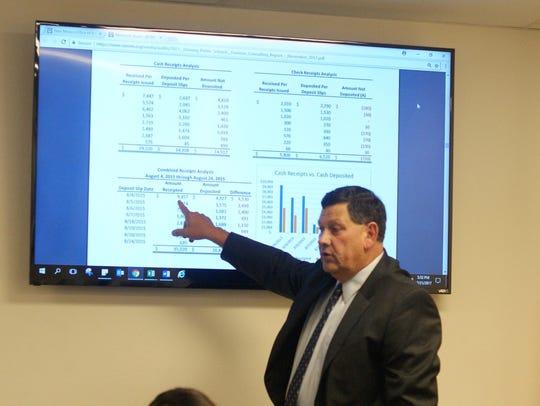 Bill Huntsman of the Jaramillo Accounting Group walked
