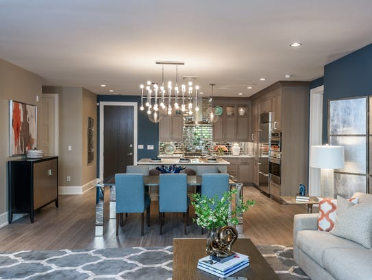 VillaBXV features open floor plans and high-end appliances.