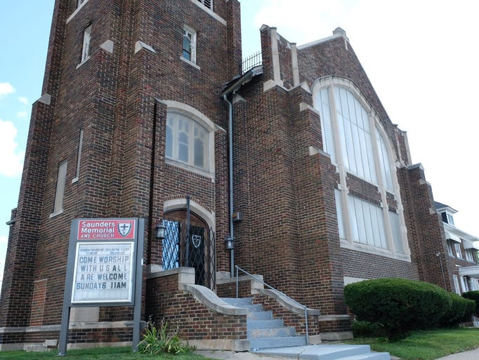 Saunders Memorial AME Church has been at this location