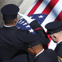 Fallen firefighter Daryl Gordon is laid to rest