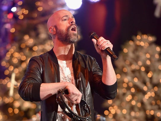 Chris Daughtry, who finished fourth in a talent-packed