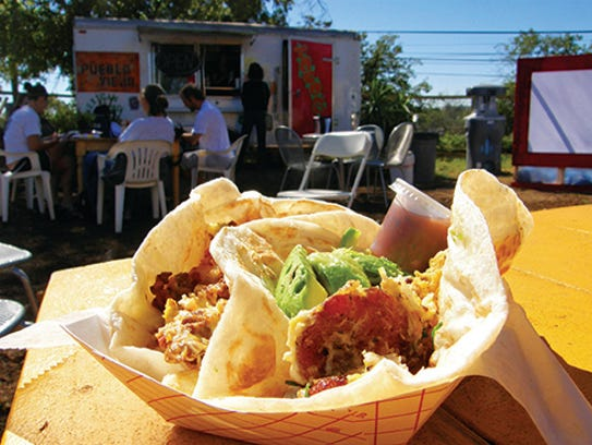 Pueblo Viejo food truck dishes up tacos, quesadillas