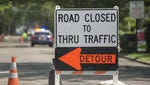 Sections of Route 70 in Medford and Marlton will close for resurfacing.
