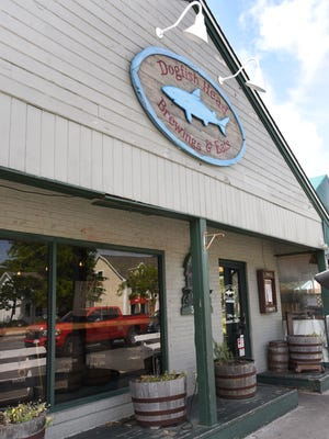 The Dogfish Head brewpub in Rehoboth Beach is shown. City officials are considering new regulations for brewery businesses.