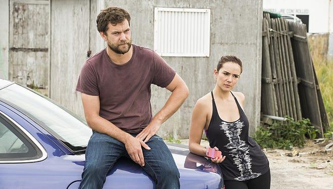 """Joshua Jackson as Cole and Catalina Sandino Moreno as Luisa in a season 2 episode of """"The Affair."""""""