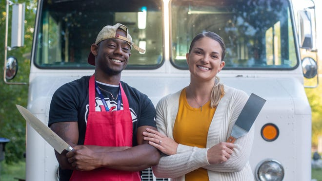 Tre'Jor Hopkins and Sarah Hines, co-owners of Flavor Wagon, are excited to start serving up delicious and healthy options out of their food truck starting later this month. Hopkins has long had the idea of creating a food truck and thanks to his persistence, has made that a reality. They hope to start serving up food on a regular basis later this month with their first official event next week.