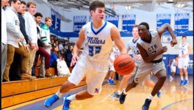 Millburn senior Ross Gang scored a team-high 21 points in a victory over Christ the King.