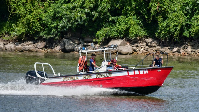 Journal Star File photo of the city's fire rescue boat.