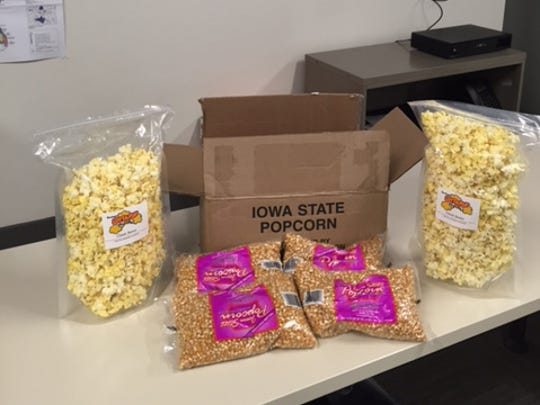 Iowa popcorn played a prominent role at one debate-watch party in California. The staff for the pro-Jeb Bush super PAC Right to Rise USA ordered a big shipment of popcorn from an Ankeny company, Brandmeyer.