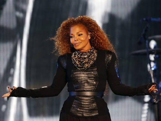 Janet Jackson in concert in 2016.