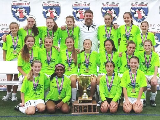 The Under-14 Jaguars earned the Fall State Cup championship.