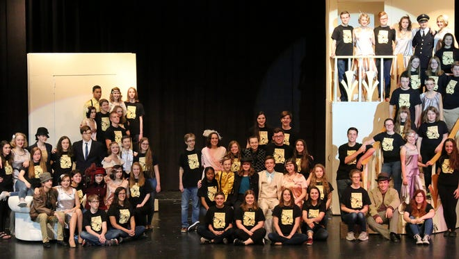 """The South Lyon High School theater company presents """"Nice Work If You Can Get it."""""""