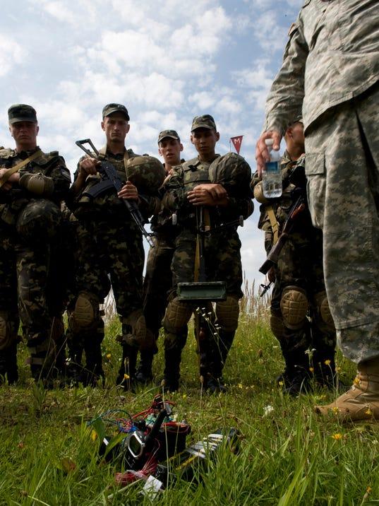 ukraine training