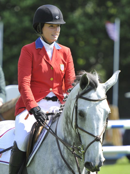 Jessica Springsteen Wins Equestrian Event In Florida